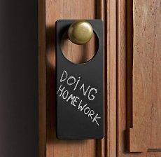Chalkboard Door Hanger Free Shipping