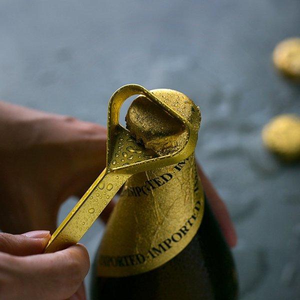 Brief Design Brass Bottle Opener