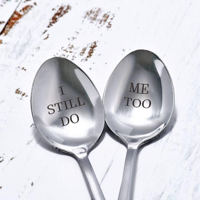 I Still Do Me Too Couple Spoons