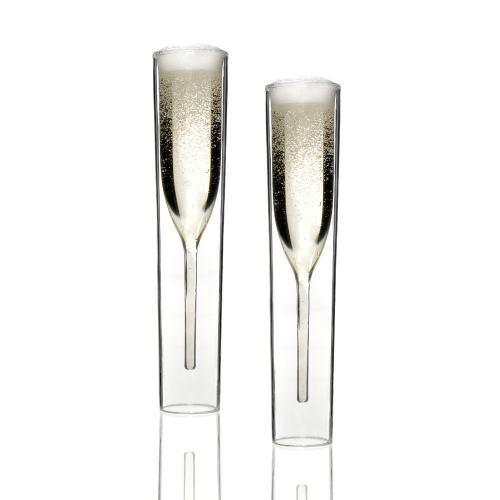 Inside Out Champagne Glass Set 2PCS