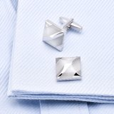White Agate Cufflinks