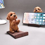 Poodle Phone Stand
