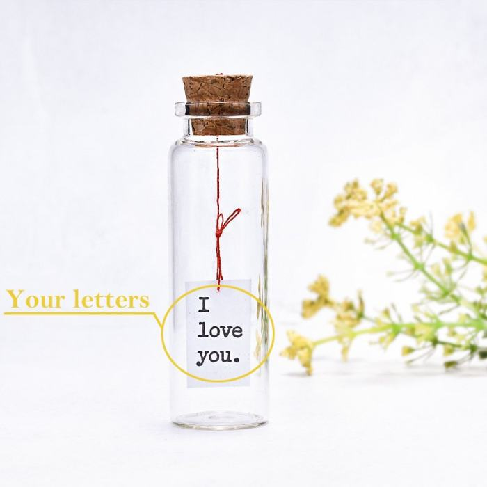 Tiny Message In A Bottle
