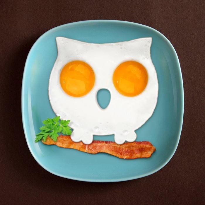 Owl Breakfast Mold
