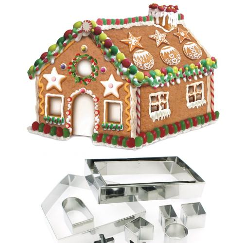 3D House Cookie Cutter Set