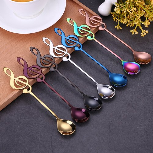 Personalized Musical Note Spoon
