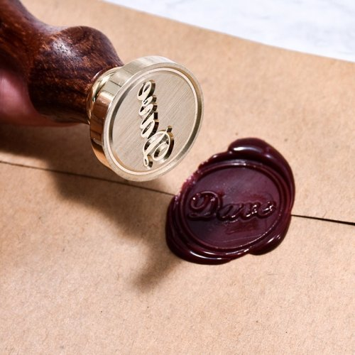 Customized Name Wax Seal Stamp Make My Own Wax Seal Stamp Name Dave