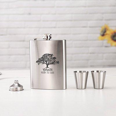 Elephant Wine Flask