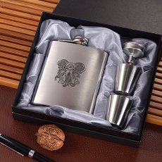 Elephant Wine Flask