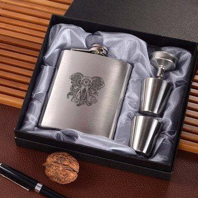 YHWH Path to God Wine Flask