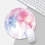 Galaxy Moon Mouse Pad