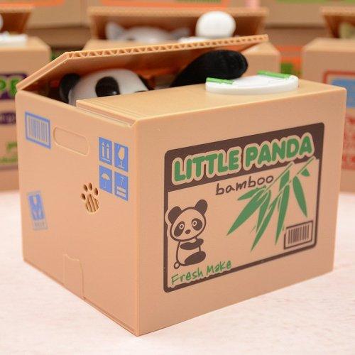 Panda Thief Coin Bank Gift for Children Kids