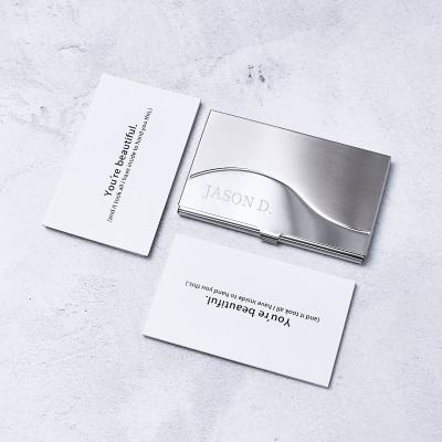 Personalized Business Card Box II