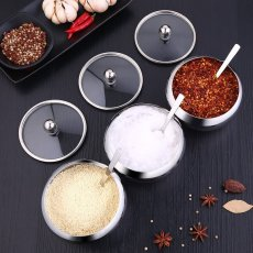 Stainless Steel Seasoning Container