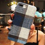 Blue Scottish Tartan iPhone Case