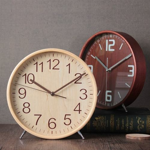 Minimalist style Wood Clock Personalized Clock Gift for Him Men Women Free Shipping