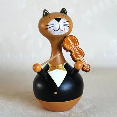 Animals Musician Music Box