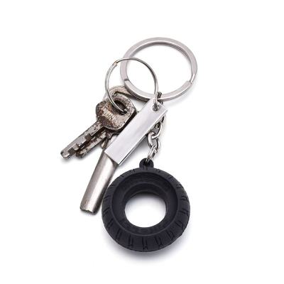 Personalized Tyre Keychain