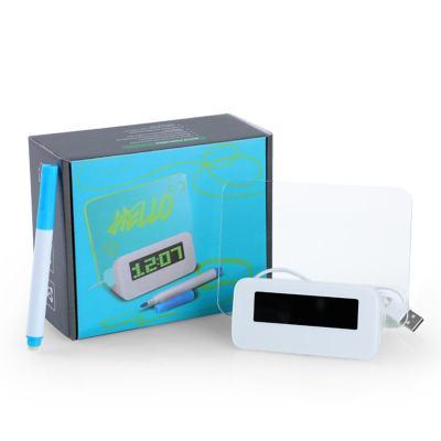 Glowing Memo Alarm Clock