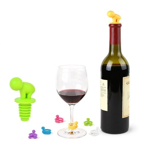 Little People Wine Stopper