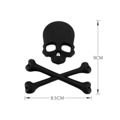 3D Skull Car Sticker