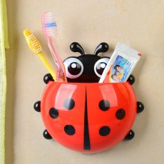 Ladybird Beetle Toothbrush Holder