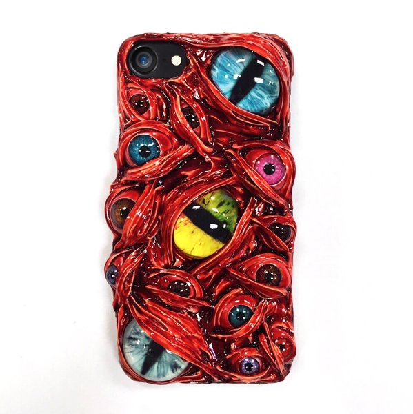 Monster's Eyes iPhone Case Evil's Eyes Smartphone Samsung Cases Gift for Him