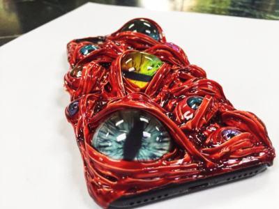 Monster's Eyes iPhone Case Evil's Eyes Smartphone Samsung Cases Gift for Him