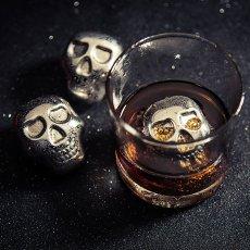 Skull Whiskey Ice Cube