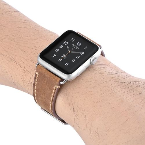 Ultra-Strong Leather Apple Watch Band