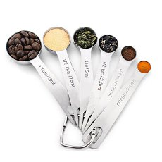 6 Pcs Measuring Spoon Set
