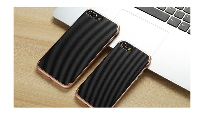 Clearance Double Layer iPhone Carbon Fiber Case