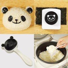 Panda Seaweed Nori Punch & Rice Mold Kit