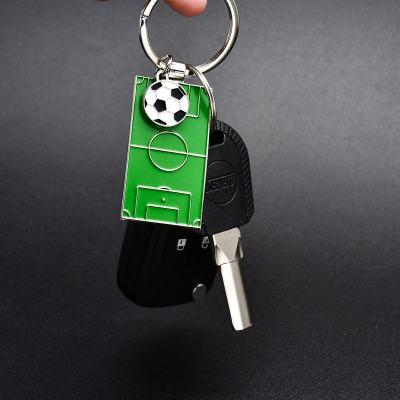 Football Field Keychain