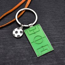 Football Field Keychain