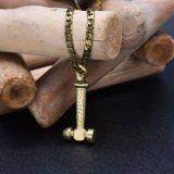 Brass Hammer Necklace