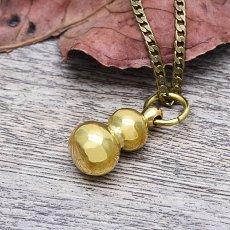 Brass Lagenaria Siceraria Necklace