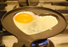 Heart Shaped Egg Pan
