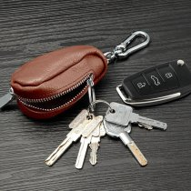 Leather Car Key Wallet
