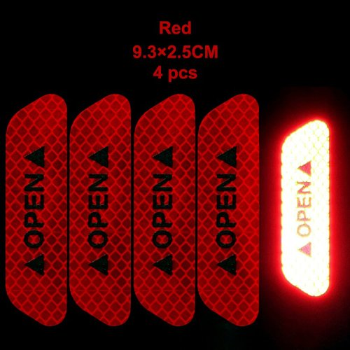 Safety Reflective Open Stickers