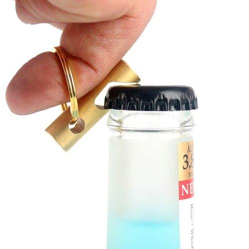 Brass Bottle Opener Keychain