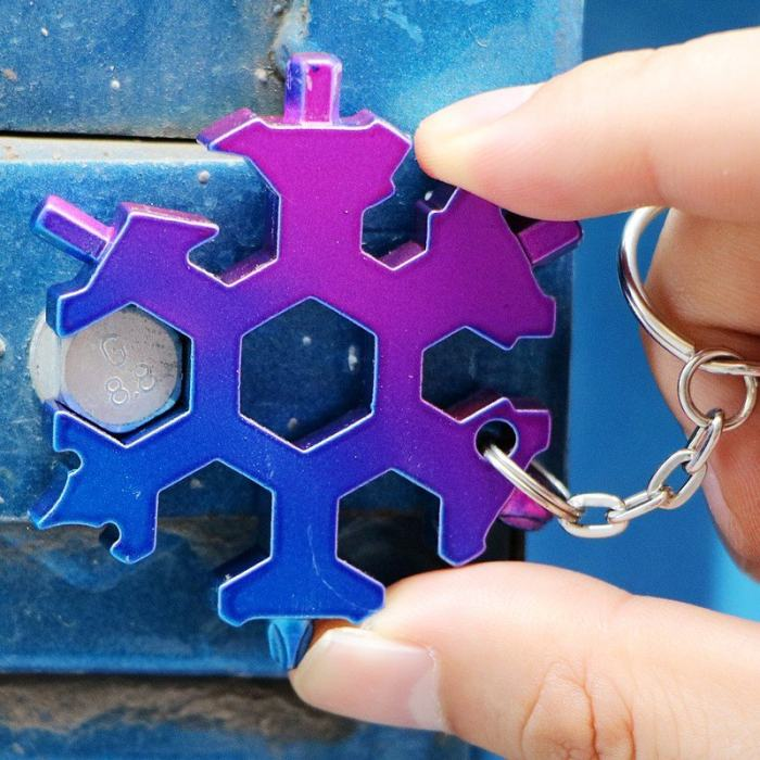 19 in 1 Snowflake Multi Tool Free Shipping