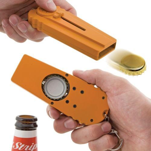 Cap Zappa Bottle Opening Cap Launcher