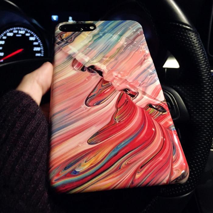 Running Paint iPhone Case