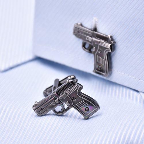 Pistol Cufflinks