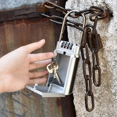 Portable Key Safe Lock