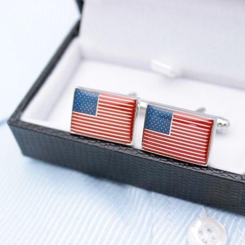 The United States Flag Cufflinks