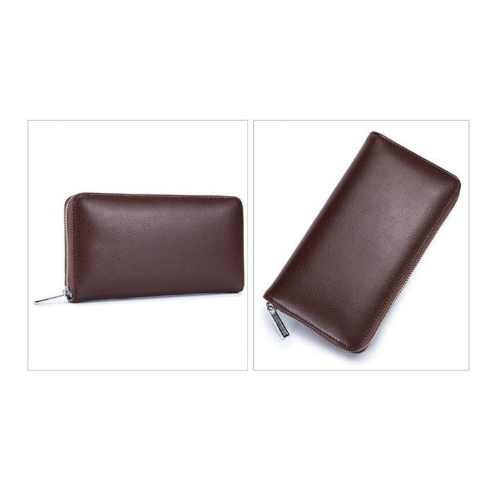 High Capacity 36 Card Slots RFID Wallet