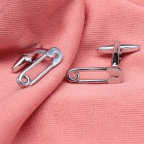Safety Pin Cufflinks