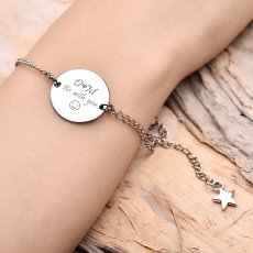 Be With You Personalized Bracelet